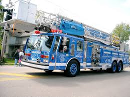 100 Blue Fire Trucks Ladder Truck That Are Not Red Trucks