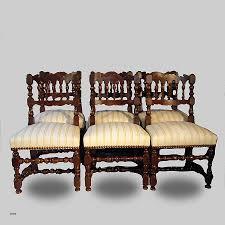 chaise de style chaise chaise louis 13 luxury ensemble de six chaises en noyer de