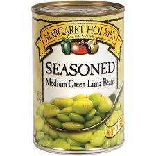 Margaret Holmes Seasoned Lima Beans 15 Oz