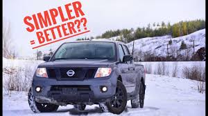100 Cheapest 4x4 Truck 2018 Nissan Frontier SV Midnight Edition Test Drive Review YouTube
