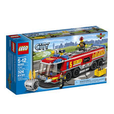 LEGO City Great Vehicles Airport Fire Truck 60061 | LEGOs We Own ...