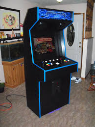 Bartop Arcade Cabinet Kit by Tredog U0027s First Full Height Slim Cabinet Cabinets And Projects