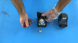 dlp tv repair how to replace a philips 334 bulb in the
