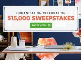 Homes & Garden $15 000 Sweepstakes