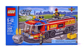 Airport Fire Truck - LEGO Set #60061-1 (NISB) (Building Sets > City ... Amazoncom Lego City Great Vehicles 60061 Airport Fire Truck Toys Itructions Brick Radar 2014 Stop Motion Youtube 6210344 Technic Hook Loader 42084 Building Kit Review Set Daddacool Lego City Airport Deals On 1001 Blocks 7891 Firetruck 141ps 1 Minifig R 99 Em Mainan Game Alat City Airport Fire Truck Review Di Cartoon About New Police My