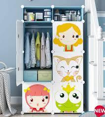 schöne kinder kleiderschrank gesunde und umwelt freundliche harz material schrank baby schlafzimmer staubdicht kleiderschrank