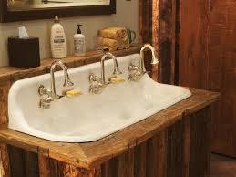 Rustic Industrial Bathroom Mirror by Rustic Bathroom Remodel Rustic Shower Design Idea Teak Wood Framed