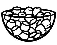 Marshmallows Coloring Page