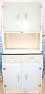 Retro Vintage METAL Kitchen Unit Larder Dresser Cupboard Kitchenette HOUSE PROUD