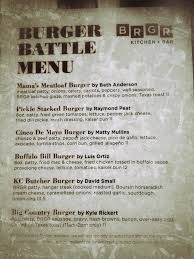 Sofa King Burger Menu by Just Don U0027t Call Me Late For Dinner May 2013