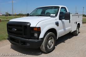100 Pickup Truck Utility Beds 2010 Ford F250 Super Duty Utility Bed Pickup Truck Item DD