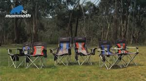 Picnic Time Reclining Camp Chair by Primus Mammoth Camp Chair Range Youtube