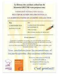 recette cuisine collective réseau des cuisines collectives de montréal formation