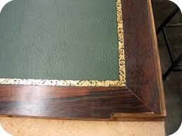 bureau en cuir décorateur de dessus de secrétaire de bureau en cuir pvc skai tissu
