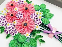 Paper Quilling Flower For Beginner Learning Video 9Paper Card
