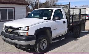 2007 Chevrolet Silverado 2500HD Flatbed Pickup Truck | Item ...
