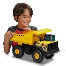 Amazon.com: Tonka Classic Steel Mighty Dump Truck Vehicle: Toys & Games