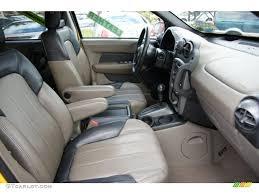 2003 Pontiac Aztek AWD interior