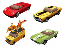 Grand Theft Auto Papercraft