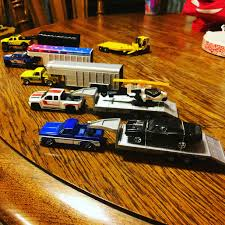 100 Hot Wheels Truck I Drilled Holes In My Sons Hot Wheels Trucks For His Ertl 164