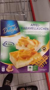 sweet delight apfel karamellkuchen kalorien nährwerte