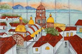 unique mexican tile and mexican tile backsplash talavera mural