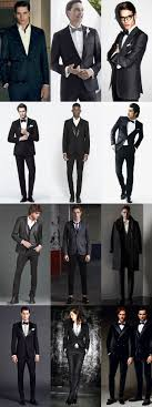 Mens Black Evening And Party Wear Outfit Inspiration Lookbook