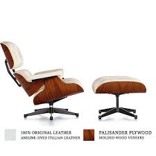 Eames Style Lounge Chair & Ottoman - White By Modholic - Walmart.com Eames Style Lounge Chair Thebricinfo Eames Style Lounge Chair And Ottoman Black Leather Palisander Ottomanwhite Worldmorndesigncom Charles Specialist Hans Wegner Replica The Baltic Post And Brown Walnut Afliving Eames 100 Aniline Herman Miller Century Reproduction 2 Plycraft Style Lounge Chair Ottoman