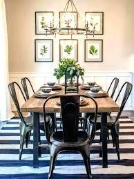 Farmhouse Dining Room Table Set Industrial Audacious