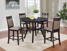 Cory 5Pc Espresso Pub Table Chairs Dining Set MYCO CR640 5PC