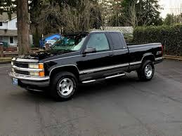 100 Pick Up Truck For Sale By Owner 1998 Chevrolet Silverado 1500 By In M OR 97313