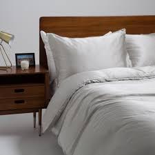 Luxury Mulberry Silk Bed Linen Superking Duvet Cover Grey