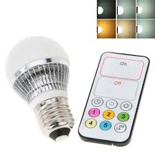 best remote 4w 110 240v ac e27 led bulb light l home