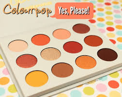 Colourpop Yes Please Eyeshadow Palette Review Pics And Swatches