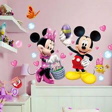 Mickey And Minnie Bath Decor by Minnie Mouse Wall Decor Ebay