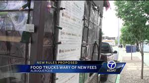 Food Trucks Wary Of New Fees - YouTube 61 The Lunch Box Food Truck For Sale Supper Alburque Trucks Roaming Hunger Tuesday Food Trucks At Civic Plaza Of Chacos Catering Nm Festivals America Proposal Promotes Restrictions On Street Seations In Could Move Near Restaurants About Dtown Arts Cultural District Truck Ordinance Undergoes Buffer Change Business Cheesy