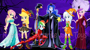 Trixie The Halloween Fairy Pictures by My Little Pony Transforms Into Halloween Disney Princess Villains