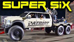 100 Patriot Truck Super Six Ford Monster Video The Supercar Blog