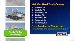 Penske Used Truck Centers - YouTube Med Heavy Trucks For Sale Tg Stegall Trucking Co Ryder Ingrated Logistics Azjustnamedewukbossandcouldbeasnitsgbigonlinegroceriesjpg Truck Rental And Leasing Paclease Telematics Viewed As A Vehicle Safety Gamechanger Fleet Owner Moving Companies Comparison