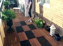 Balcony Flooring Floor Condo Creative On Intended For Waterproof Outdoor Ideas 6 India Floo