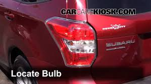 brake light change 2014 2016 subaru forester 2014 subaru