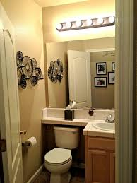 Small Half Bathroom Decor by Small Half Bathroom Layout Brown Laminated Wooden Frame Dark White