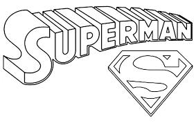Superman Logo Coloring Pages Az