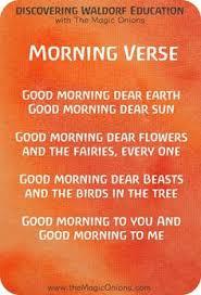 Favorite Waldorf Morning Circle Verses For Kindergarten