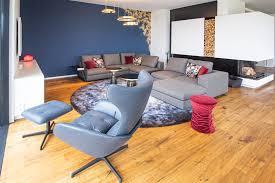 wohnzimmer neugestaltung ke design moderne wohnzimmer blau