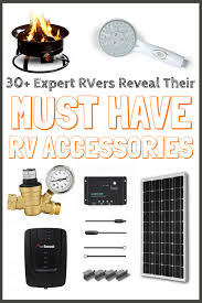 MUST Have RV Accessories