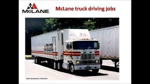 McLane Truck Driving Jobs - YouTube