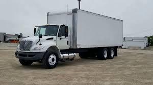 100 International Box Truck 2014 4400 Tandem Auto YouTube