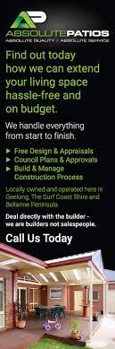 100 Belmont Builders Absolute Patios Patio