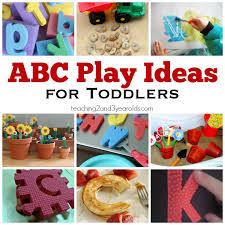 16 Playful Toddler Alphabet Activities